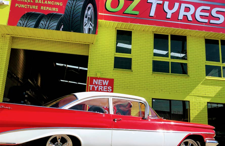 Cheap new tyre including fitting service